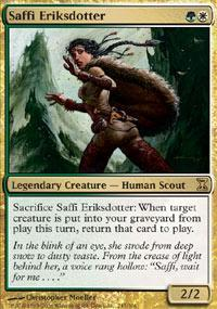 Saffi Eriksdotter Magic Card