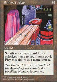 Ashnod's Altar Magic Card