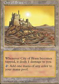 City of Brass Magic Card
