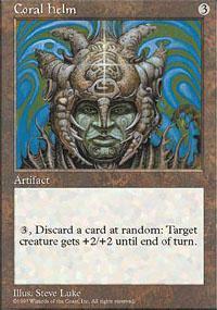 Coral Helm Magic Card