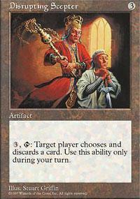 Disrupting Scepter Magic Card