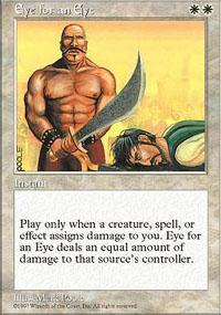Eye for an Eye Magic Card