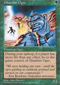 Ghazban Ogre Magic Card