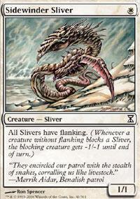Sidewinder Sliver Magic Card