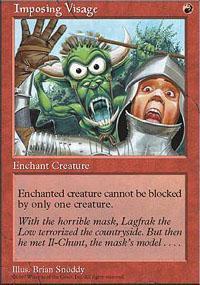 Imposing Visage Magic Card