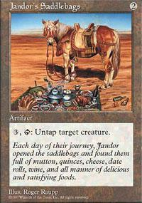 Jandor's Saddlebags Magic Card