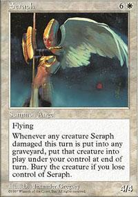 Seraph Magic Card