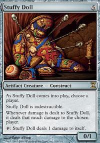 Stuffy Doll Magic Card