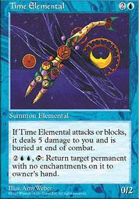 Time Elemental Magic Card
