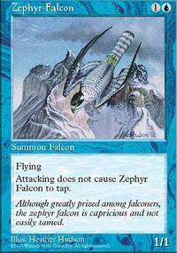 Zephyr Falcon Magic Card