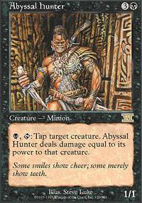 Abyssal Hunter Magic Card