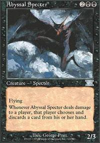 Abyssal Specter Magic Card