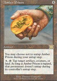 Amber Prison Magic Card