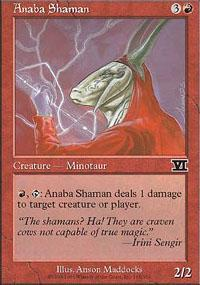 Anaba Shaman Magic Card