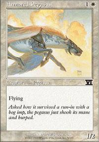 Armored Pegasus Magic Card