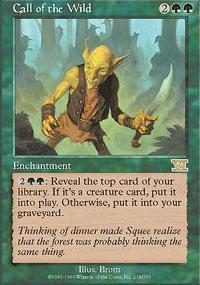 Call of the Wild Magic Card