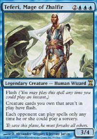 Teferi, Mage of Zhalfir Magic Card