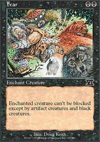 Fear Magic Card