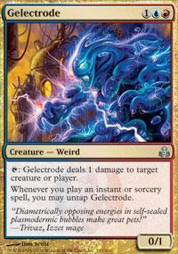 Gelectrode Magic Card
