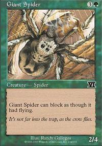 Giant Spider Magic Card