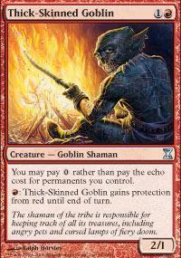 Thick-Skinned Goblin Magic Card