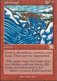 Jokulhaups Magic Card