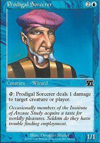 Prodigal Sorcerer Magic Card