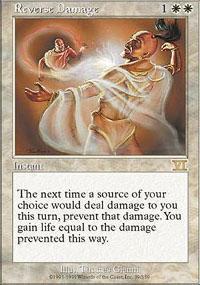 Reverse Damage Magic Card