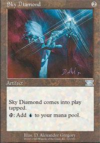 Sky Diamond Card | Sky Diamond Magic The Gathering Card
