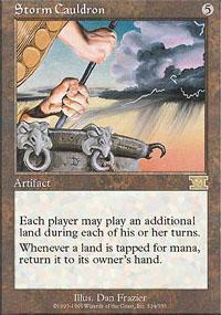 Storm Cauldron Magic Card