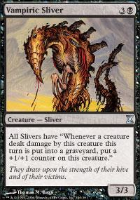 Vampiric Sliver Magic Card