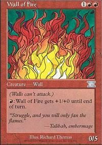 Wall of Fire Magic Card