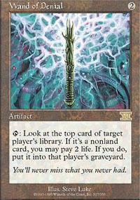 Wand of Denial Magic Card