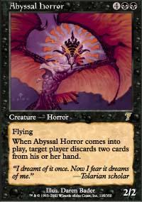 Abyssal Horror Magic Card