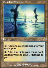 Adarkar Wastes Magic Card