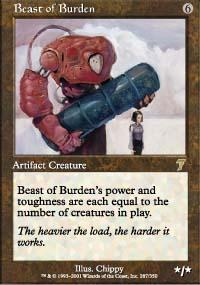 Beast of Burden Magic Card