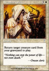 Breath of Life Magic Card