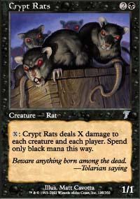 Crypt Rats Magic Card