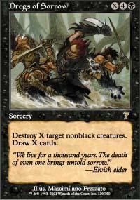 Dregs of Sorrow Magic Card