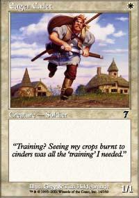 Eager Cadet Magic Card