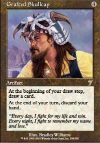 Grafted Skullcap Magic Card