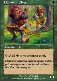 Llanowar Elves Magic Card