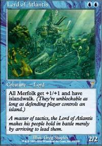 Lord of Atlantis Magic Card