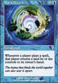 Lookup A Number >> Megrim + Mana Breach + Warped Devotion + Overburden - Magic The Gathering Combo