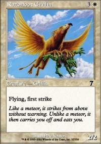 Razorfoot Griffin Magic Card