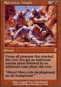 Relentless Assault Magic Card
