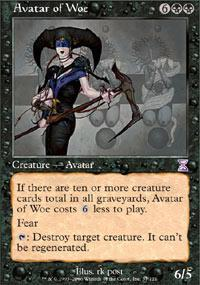 Avatar of Woe Magic Card