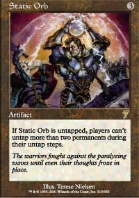Static Orb Magic Card