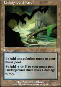 Underground River Magic Card