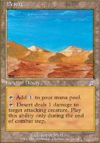 Desert Magic Card